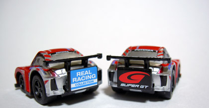 REAL RACING Xanavi nismo Z rear