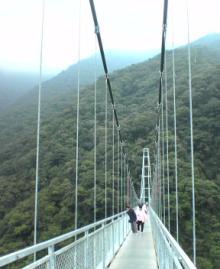 綾の吊橋①