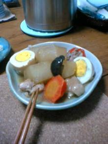 大根と卵と鶏肉の煮物