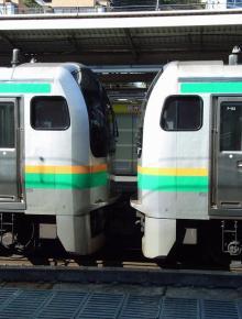 中央線の電車と釜-F3+F53
