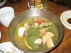 スープも美味しい。