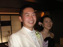 隊員の結婚式