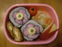 お花飾り寿司
