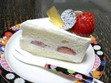 ホワイトショートケーキ