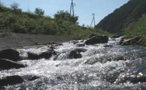 きれいなきれいな川