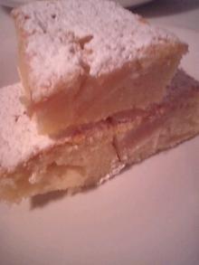 格闘親子と、のほほん母-りんごケーキ