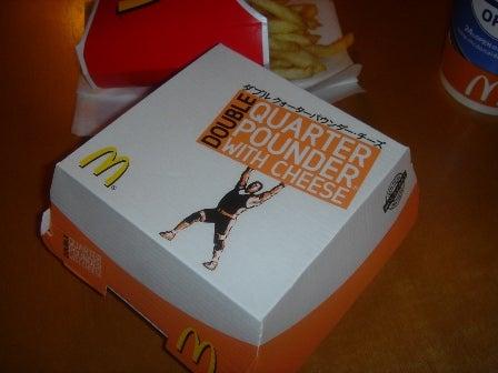 マック クオーターパウンダーチーズ