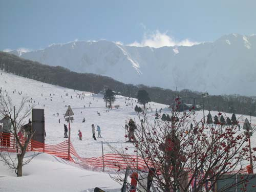 大山スキー場(鳥取県)へ   我...