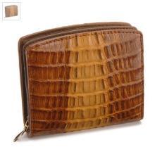カイマンクロコ財布
