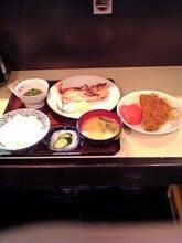 赤魚の粕漬け&アジフライ他 850円