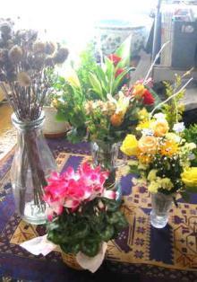 たくさんのお花ありがとうございます♪