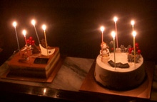 パリバゲのケーキ