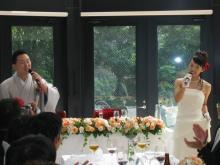 スーパー花嫁への道-唄う二人