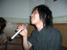 石川君も熱唱!!