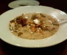 オーグルマン マッシュルームのスープ