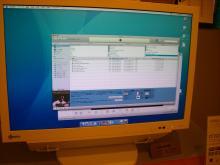 DT24ZD1 PC表示の様子(Mac OS)