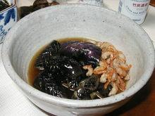 なすびの煮浸し