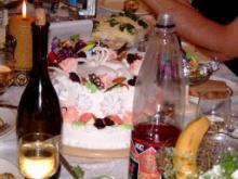 めでたい特注ケーキ