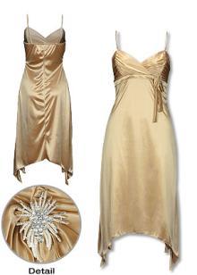 セミイブニングドレス