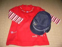 帽子とコーディネイト