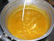 かぼちゃスープ牛乳