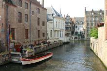 ブルージュの運河
