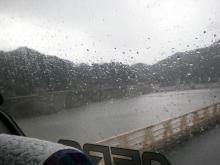 雨の初瀬川