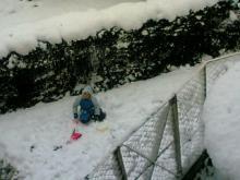 名古屋で大雪