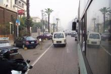 エジプト 通勤風景