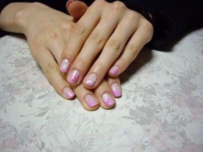 桜ネイル3
