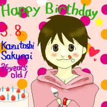 Happy Birthday Kazu!!