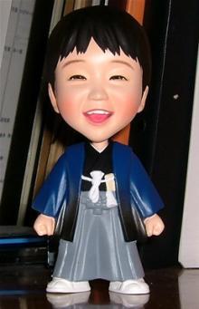 七五三記念そっくり人形(フィギュア)