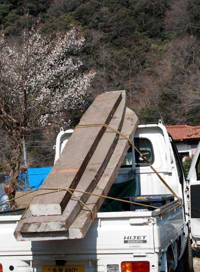 川の家 工事現場