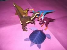 小さな恐竜達