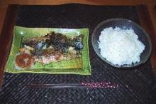 焼きサバディナー