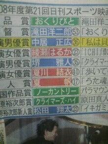 デビュー最短! 204日で古馬GI制覇♪-2008122909510000.jpg