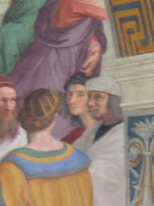 ラファエロの肖像画