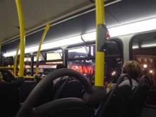 バスから見たPiccadilly Circus