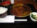 以外と普通なサバの味噌煮定食。