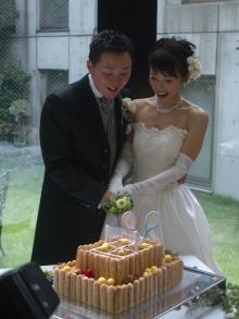 スーパー花嫁への道-ケーキカット3