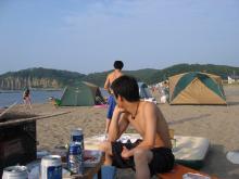 キャンプd