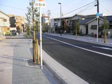JR島本駅と阪急水無瀬駅をつなぐ道路