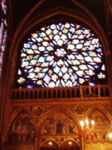 サント・シャペルの薔薇窓