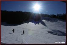 ロフトで綴る山と山スキー-ハイク開始