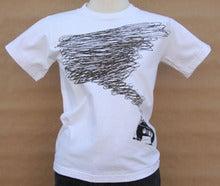 「TAPE STORM」Tシャツ