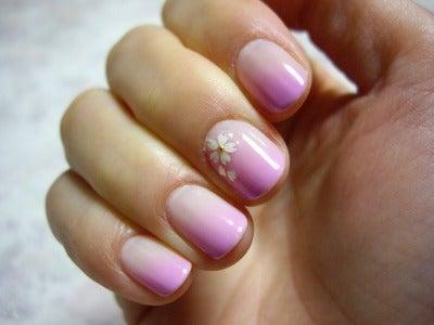 桜ネイル4