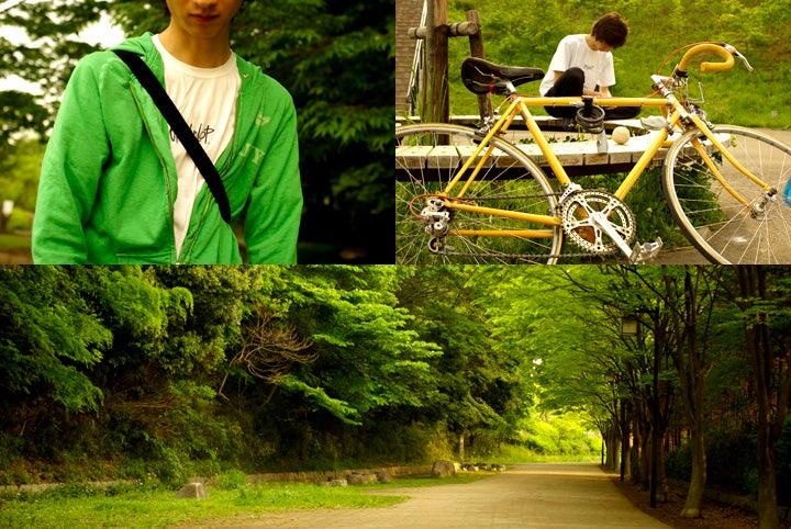 タケシ君と緑