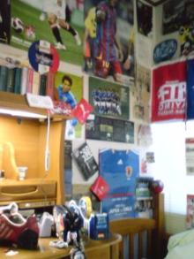サッカースパイク大好きのブログ-部屋①