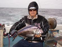 沖縄から遊漁船「アユナ丸」-釣果(H21.01.18)