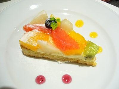 七里・大和田 地域探訪ブログ-一凛珈琲_フルーツタルト